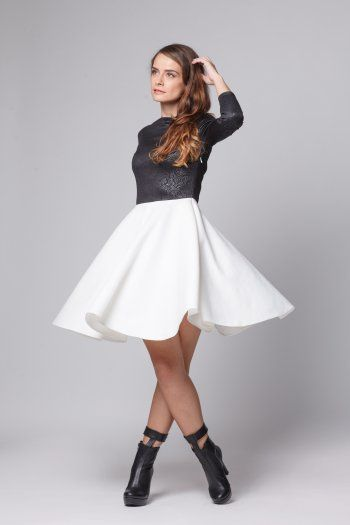 Happy Friday - Yin - Yang dress