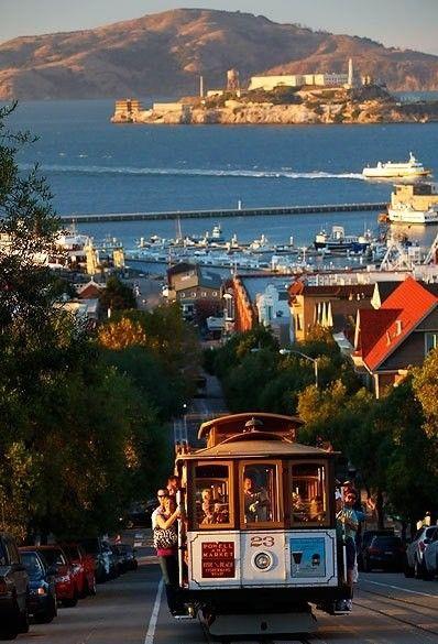 San Francisco Bay, Alcatraz Island. Nina: San Francisco is my favorite city among all I have visited!