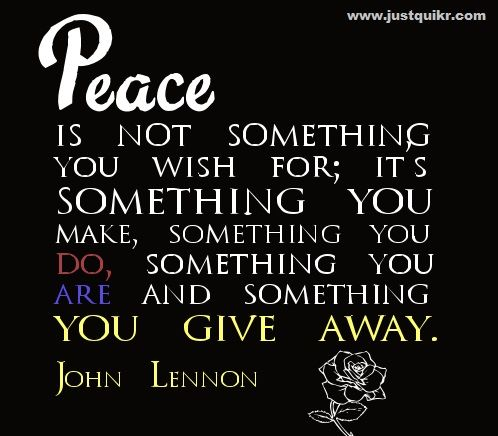 john lennon hAPPY BIRTHDAY | International Day of Peace/ World Peace Day Activities, Quotes ...