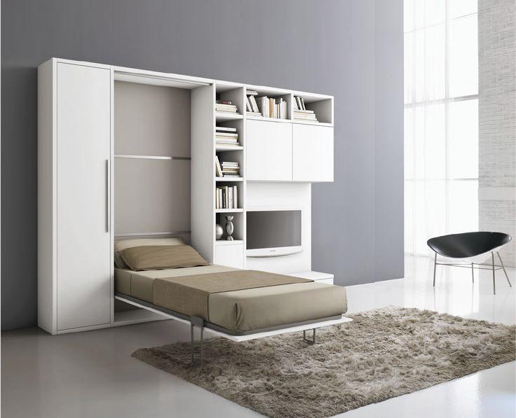 17 meilleures id es propos de lits escamotables sur for Meuble bureau escamotable
