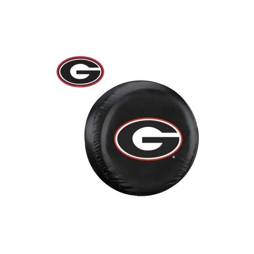 Georgia Bulldogs NCAA Spare Tire Cover and Grille Logo Set (Regular)