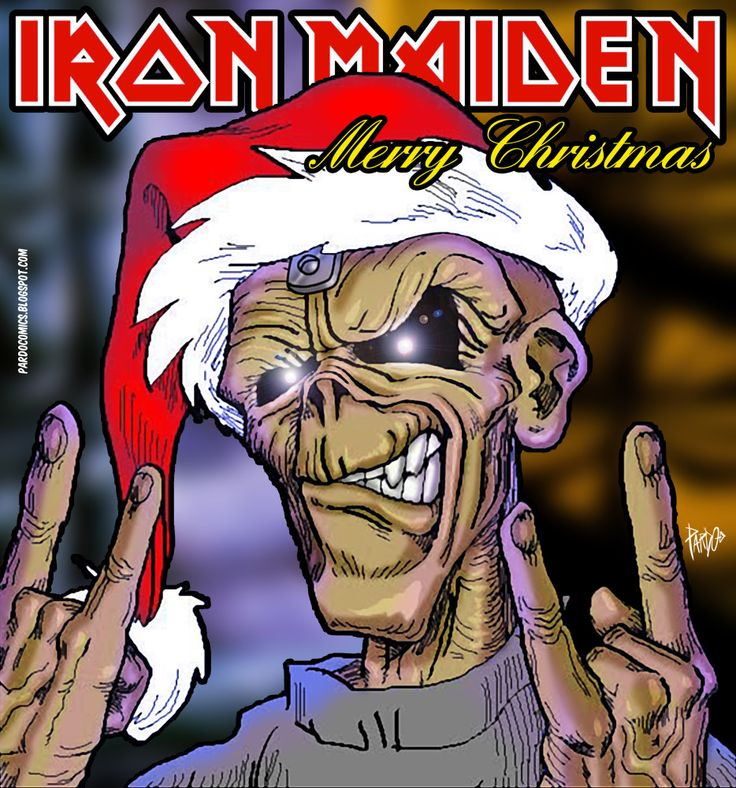 IRON MAIDEN Merry Christmas