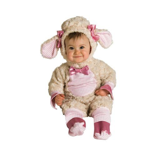 Mary Had a Little Lamb - Baby Girl Lamb Costume (0-6 months with Bracelet for Mom), Mary Had a Little Lamb, It's Fleece as White as Snow! And Your Baby Girl Will Be Super Cute in this Little Lamb Costume Too!, #Apparel, #Baby Girls, $29.99