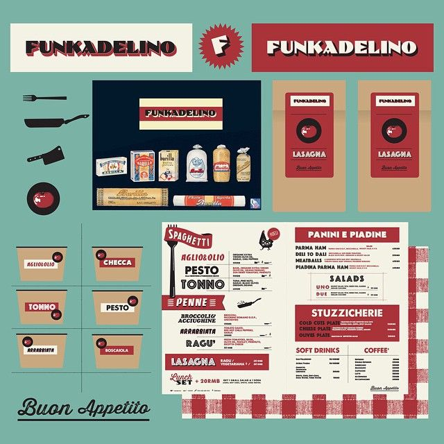 Buon Appettito!!!...#funkadelino #artwork#illustration #graphic #pasta#spaghetti#penne#lasagna#eat#356xikang #rd#shanghai #andreacasaccia