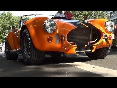 """HD HIGH RES EDITION FII Roadster what Motor Trend calls """"Shelby Cobra for the 21st Century"""" - YouTube"""