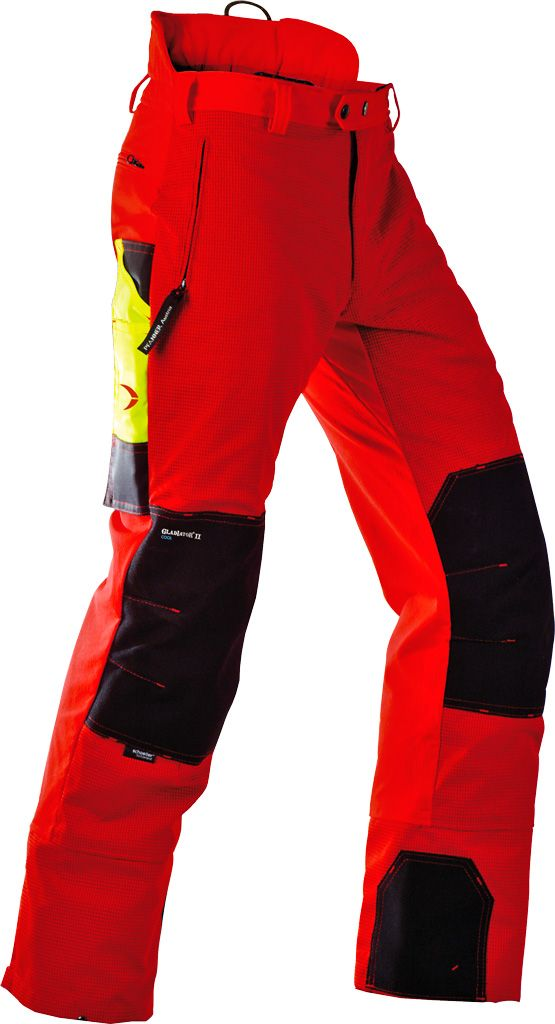 Pfanner chainsaw pants Gladiator II Cool - rot