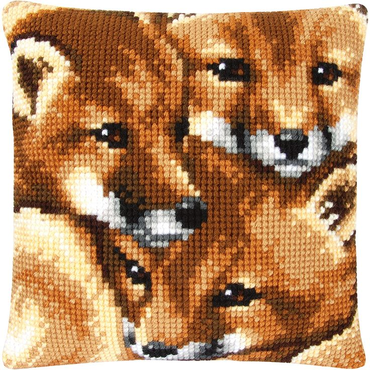Foxes Cushion - The Fox Collection