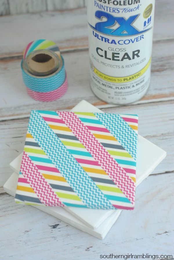 Looking for easy washi tape ideas Check