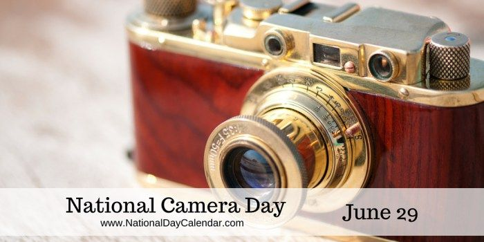 #NationalCameraDay takes a new meaning in the day and age of digital photos, no more buying and processing film!
