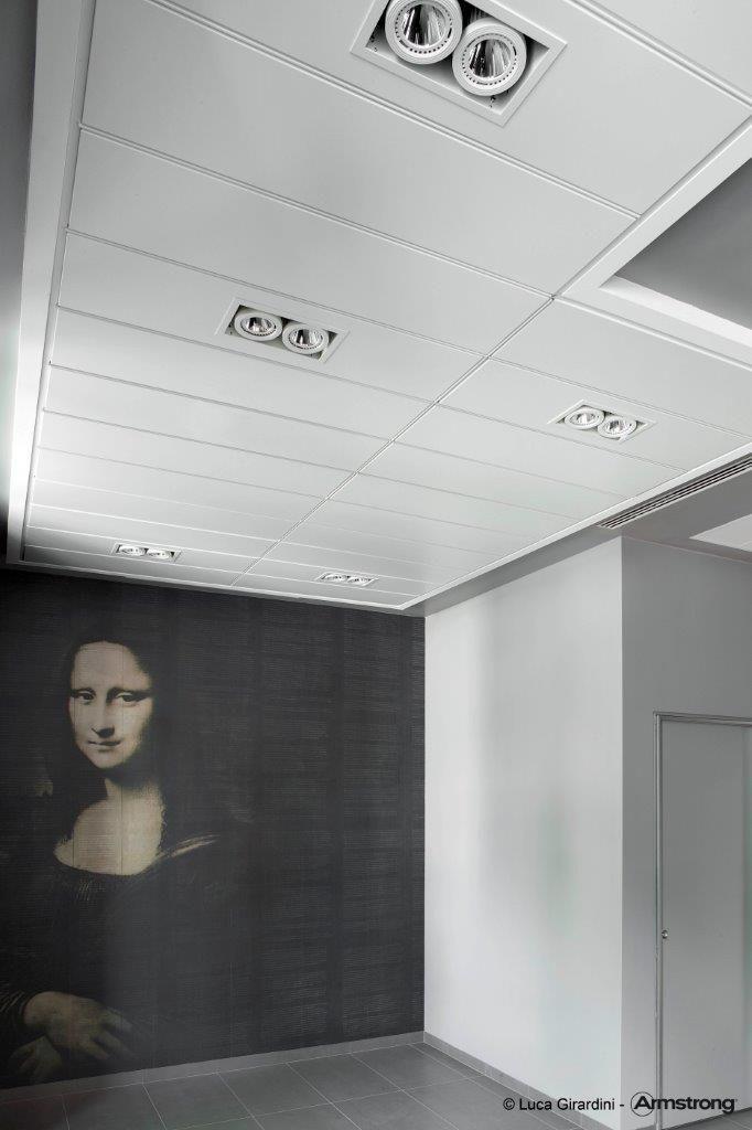 Palazzo Manzoni, Armstrong Sufity Podwieszane, ceiling, sufit podwieszony, acoustic