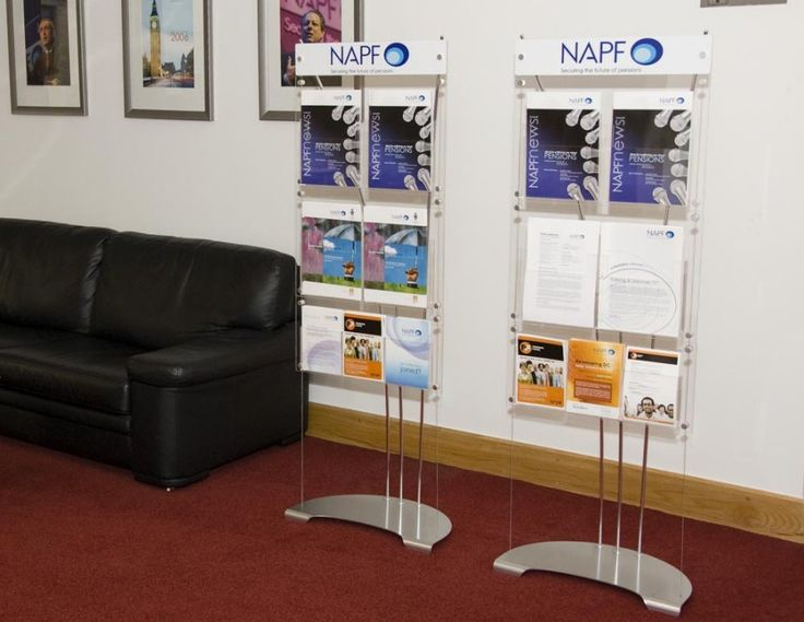 Purchase this model of brochure display
