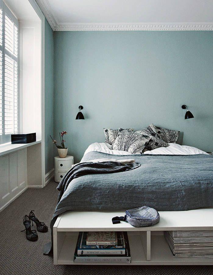 Chambre Vert Pale Deco Chambre Chambre A Coucher Deco Chambre Vert