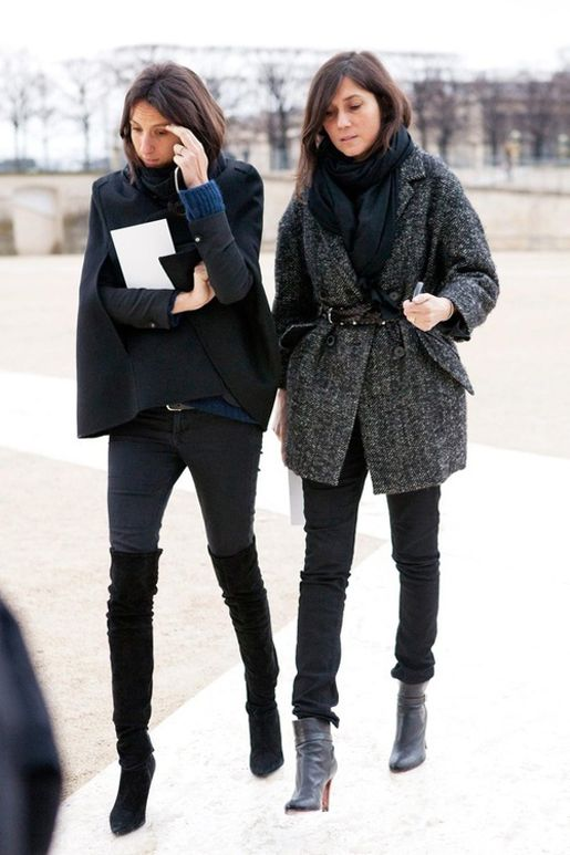 The French Chic Look Couldihavethat Fashion Pinterest
