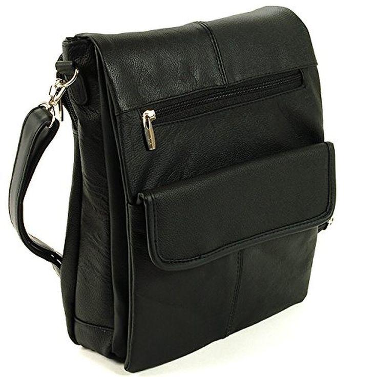 Womens Genuine Leather Crossbody Shoulder Bag Messenger Travel Purse