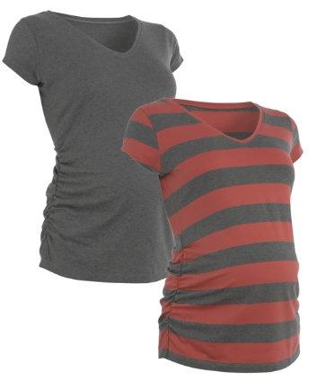 Blooming Marvellous Short Sleeve V-Neck T-Shirt- 2 Pack