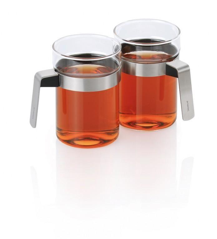 Zestaw 2 szklanek do herbaty Sencha - BLOMUS - DECO Salon #tea #tealovers #kitchenaccessories #cups