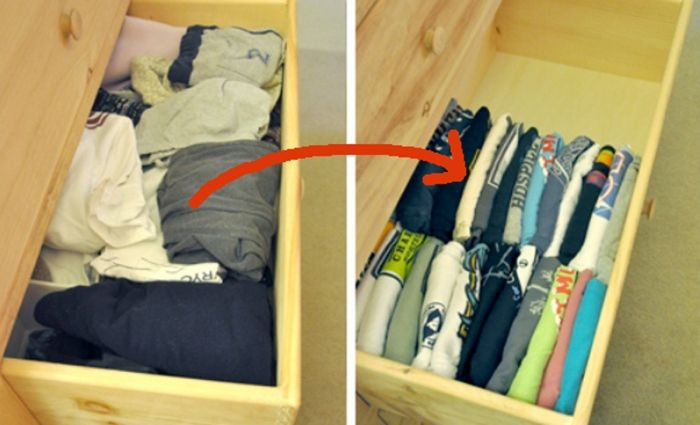 17 geniales trucos para organizar tu armario y cajones de tu casa que harán todo más sencillo http://www.upsocl.com/creatividad/17-geniales-trucos-para-organizar-tu-armario-y-cajones-de-tu-casa-que-haran-todo-mas-sencillo/
