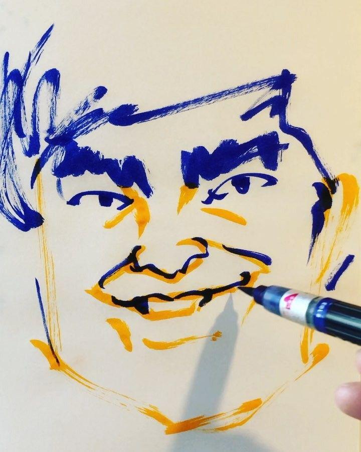 いいね!33件、コメント1件 ― torao fujimotoさん(@1mindraw)のInstagramアカウント: 「#katouryou #加藤諒 #actor #俳優 #あっぱれさんま大先生 #パタリロ #19900213 #birthday #誕生日 #1mindraw #一分描画 #portrait…」