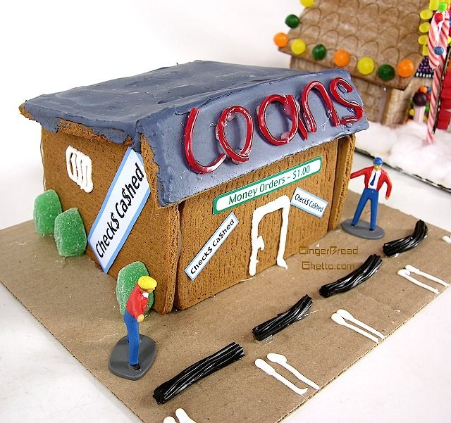 Best Ghetto  Redneck Gingerbread Houses Images On Pinterest - Gingerbread house garage
