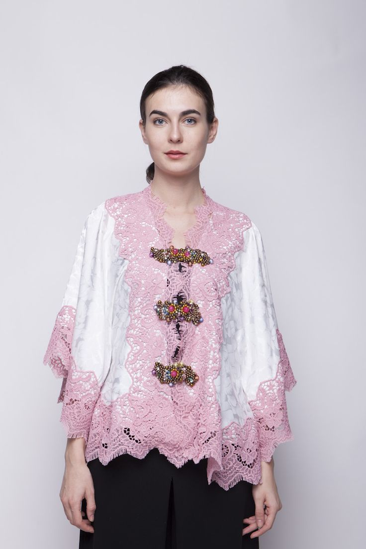 Pink Brasso Blouse