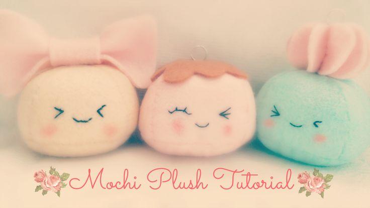 How To Make A Kawaii Mochi Plushie Tutorial | Hapy Friends Shoppe