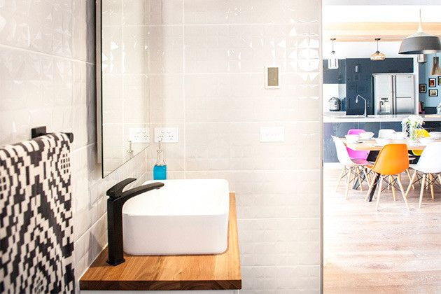 House Rules - VIC  Bathroom reveal