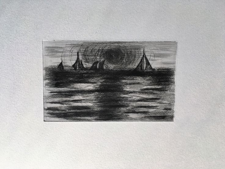 Dry point, 2016