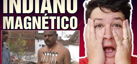 Indiano Magnético Gruda Talheres e Pregos em seu Corpo! (#03 Minuto Assombrado)