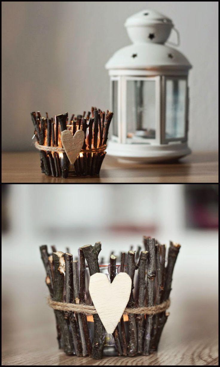 Подсвечники своими руками (65 фото): шедевры из подручных материалов - HappyModern