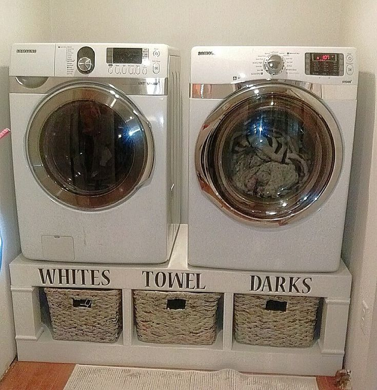 Ana White | Saushas Washer/Dryer Pedestals - DIY Projects ...