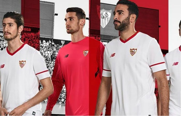 Sevilla FC 2017/18 New Balance Kits