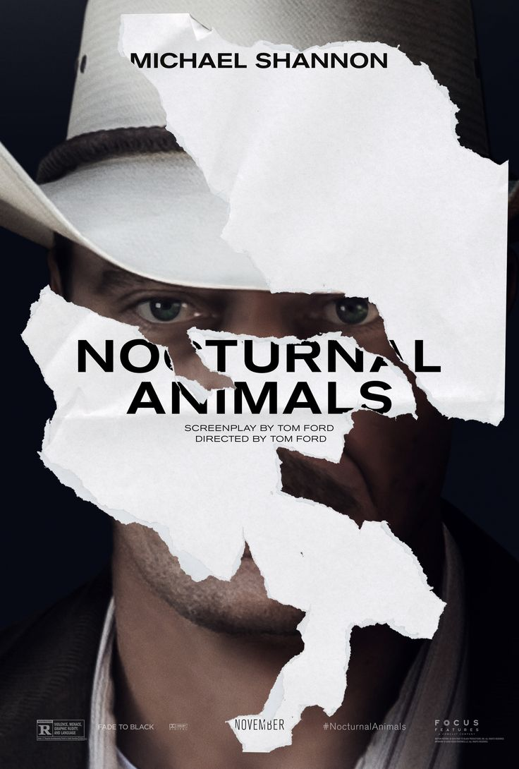 Nocturnal Animals by Tom Ford. #Venezia73 In Competition. Poster.
