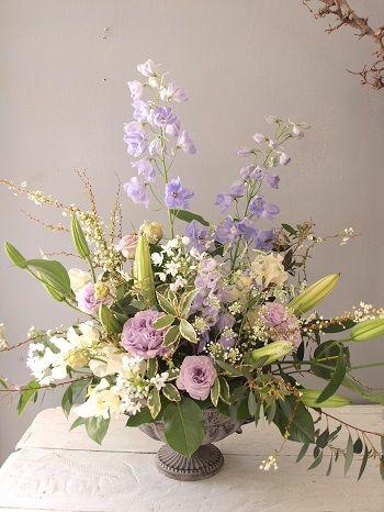 先日お見舞いのお花をホスピスへお届けさせていただきました。 自然の大好きな方へ、...