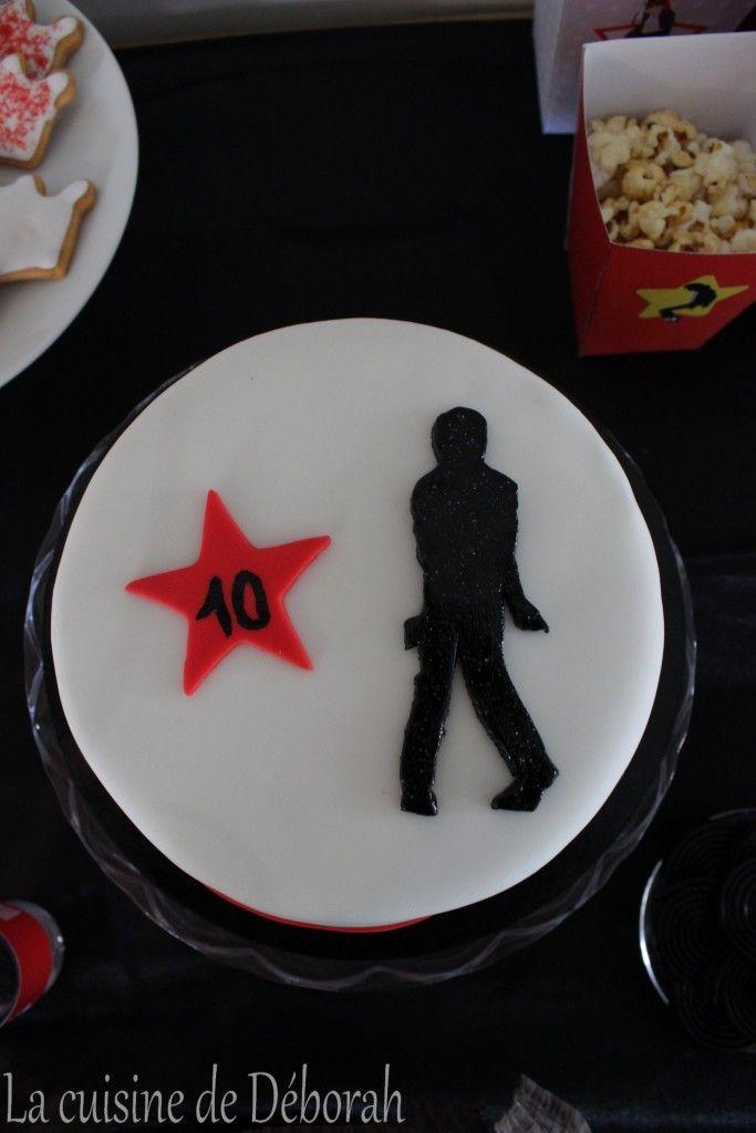 Michael Jackson birthday cake! / Gâteau d'anniversaire thème Michael Jackson!