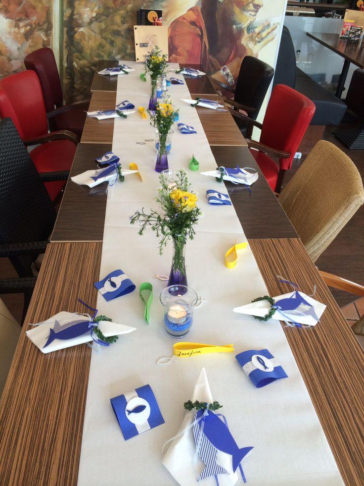 Tischdeko zur Konfirmation / Kommunion !!!