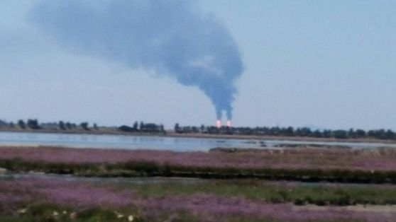 Incidente a Porto Marghera, fumo nero e fiamme dal Petrolchimico - Cronaca - La Nuova di Venezia