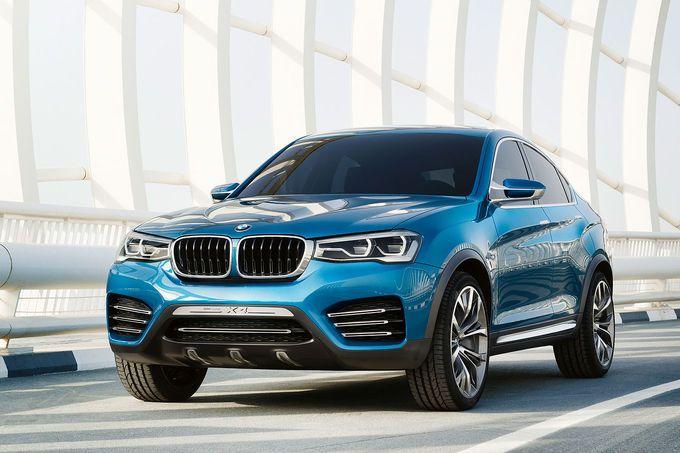 BMW Concept X4 http://sixt.info/sixtfleet_14