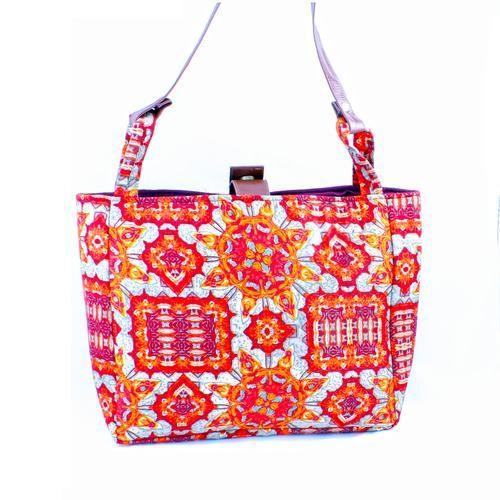Sunset Blossom Hand Bag