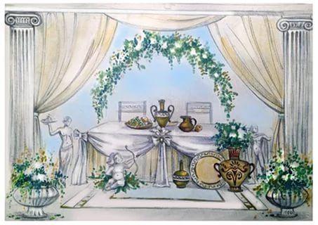 эскизы свадебного декора: 16 тыс изображений найдено в Яндекс.Картинках