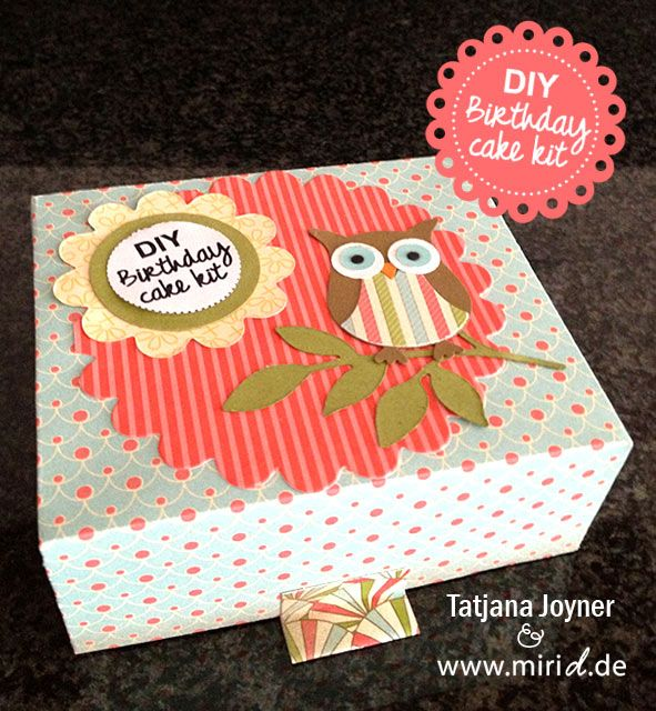 DIY Birthday cake kit. Now available in english! Yeah