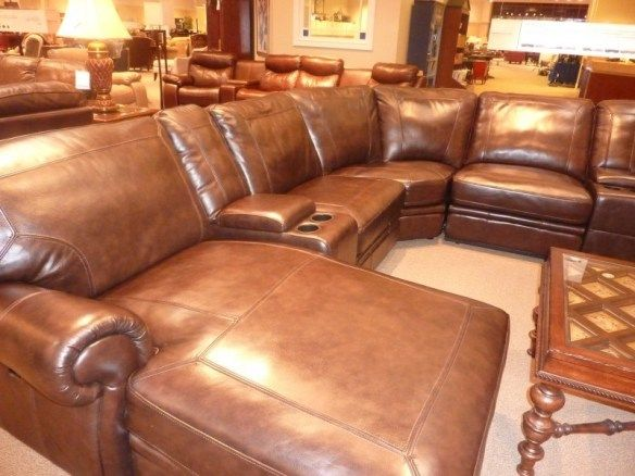 buying-leather-furniture, Havertys leather sectional, reclining leather sectional