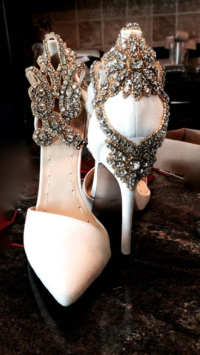 ...and these may very well be my wedding shoes in Jesus name . **chuckles. By Aminah Abdul Jillil