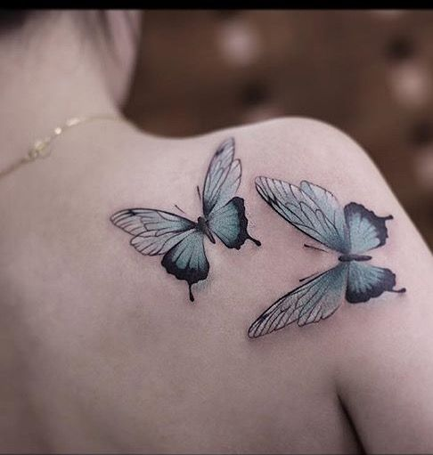 Chen Jie Newtattoo butterfly tattoo
