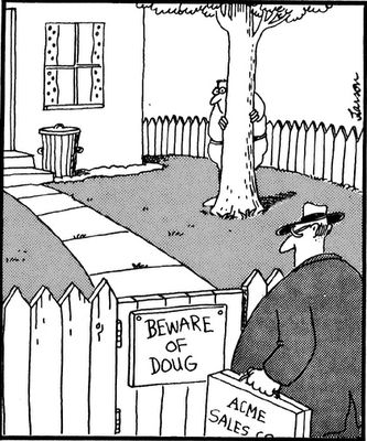Beware of Doug - The Far Side