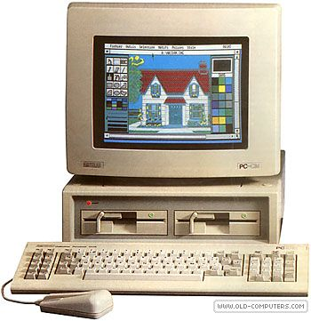 miss my first real pc! copy a: b: