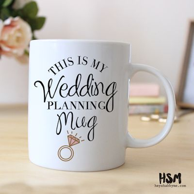 Laced in Weddings: Wedding Mugs