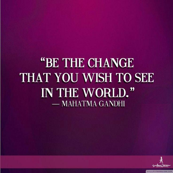 #uwdailyquote #mahatmagandhi