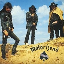 Ace of Spades is the fourth album by the British heavy metal band Motörhead. Released on 8 November 1980, it peaked at No. 4 on the UK album charts and reached Gold status by March 1981