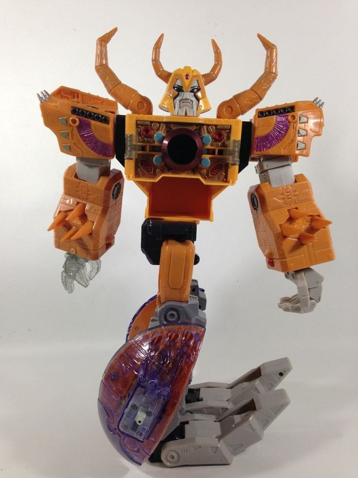Transformers Energon Unicron Armada LARGE (Orange Version) Action Figure Robot  #HASBROTAKARA