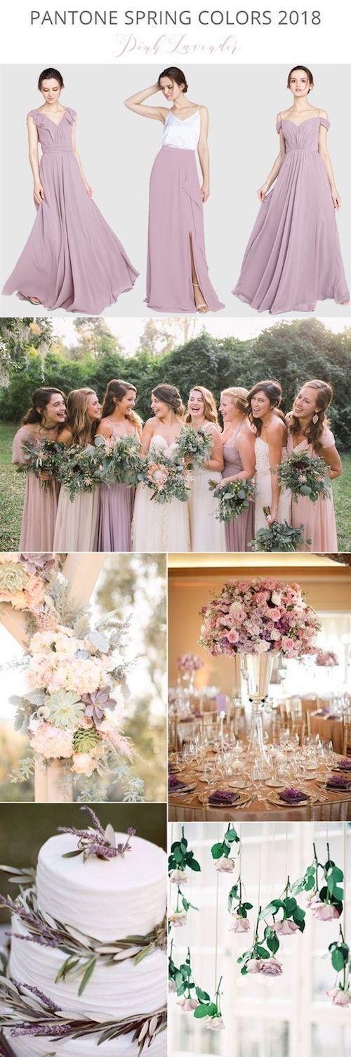 Tendencia en colores para bodas de primavera este …